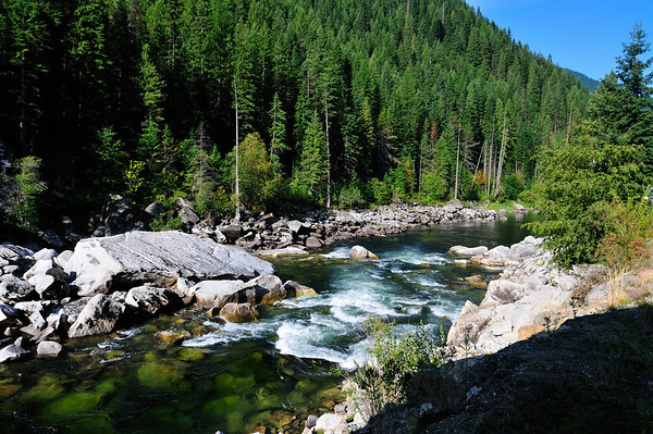 North Fork of the Clearwater & Kelly Creek