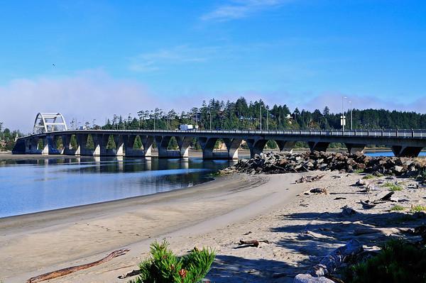 Oregon Coast March 2010 and October 2009